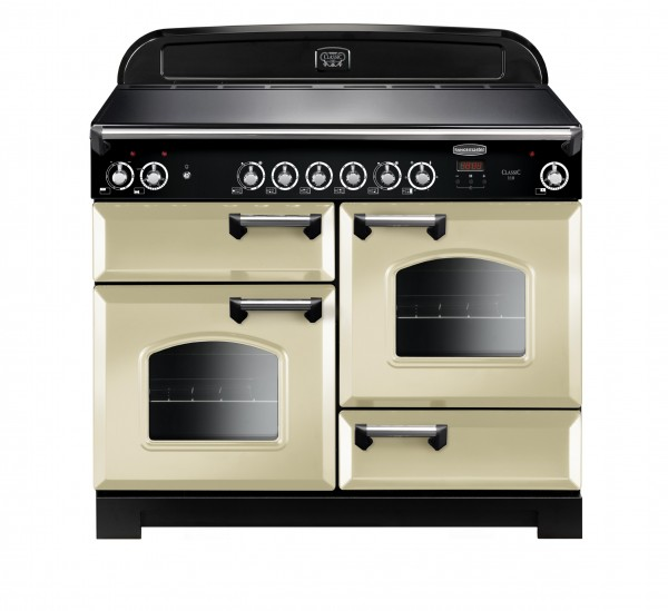 Rangemaster Classic 110CER Cream Chrome 117520 Electric Range Cooker
