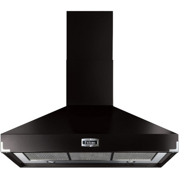 Falcon 1092 Superextract Black Chrome 90810 Cooker Hood