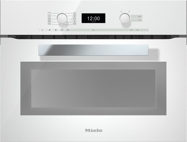 Miele H6400BM brwh PureLine Integrated Combination Microwave