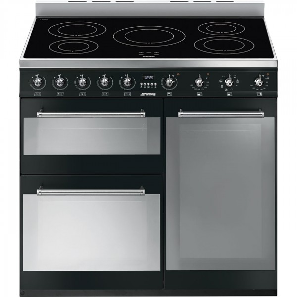 Smeg SY93IBL Electric Range Cooker