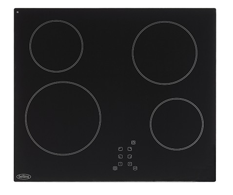 Belling CH60TX Blk Agency Model Electric Hob