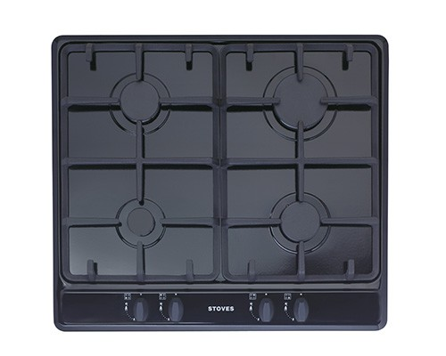 Stoves SGH600C Blk Gas Hob