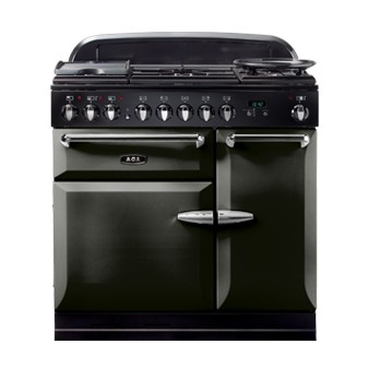 AGA Masterchef 90 DF Pewter Dual Fuel Range Cooker