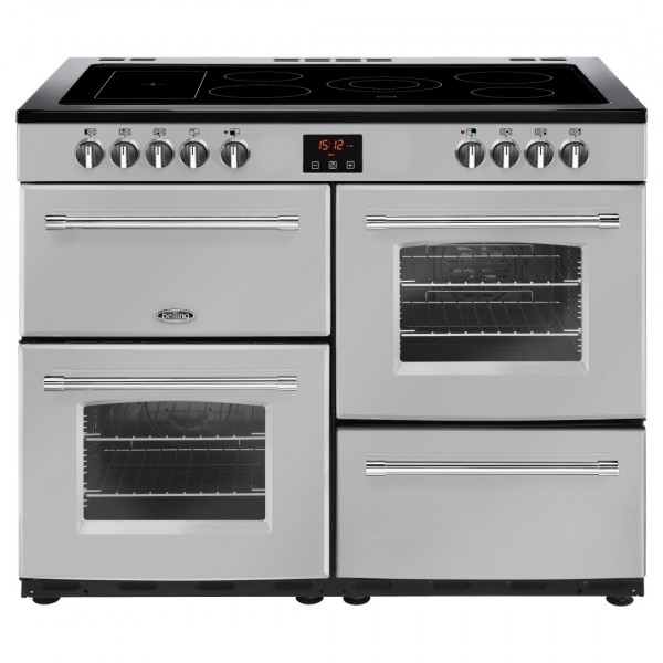 Belling Farmhouse 110E Sil Electric Range Cooker