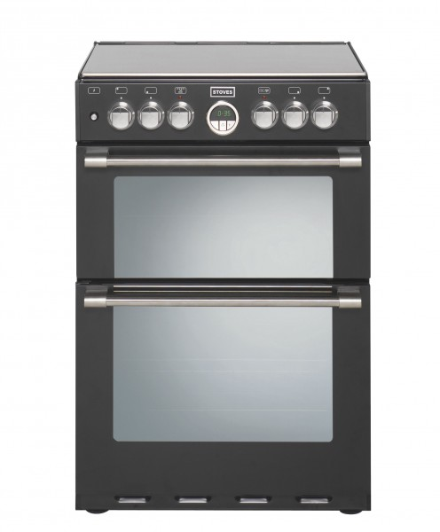 Stoves Sterling 600DF BLK Dual Fuel Cooker