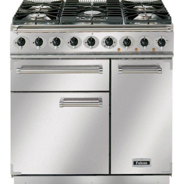 Falcon 900 DX DF SS Chrome 77070 Dual Fuel Range Cooker