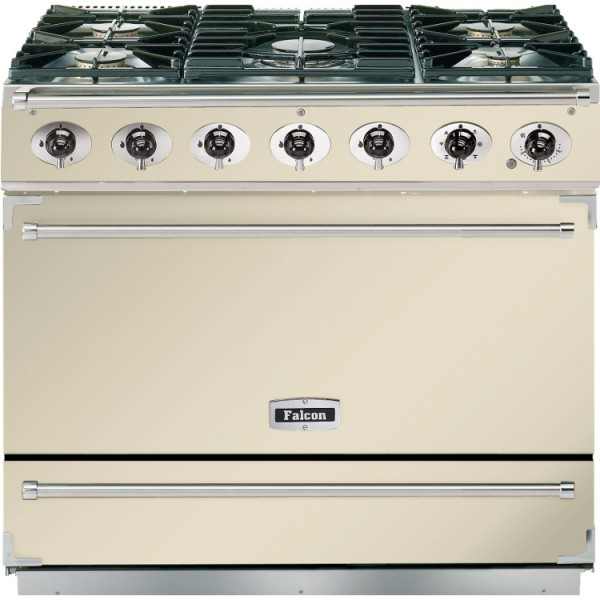 Falcon 900S DF Cream Chrome 87400 Dual Fuel Range Cooker