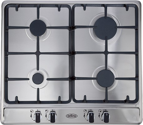 Belling Appliances Ltd GHU60TGC LPG SS Gas Hob