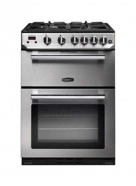 Rangemaster Professional Plus 60G SS Chrome 10728 Gas Cooker