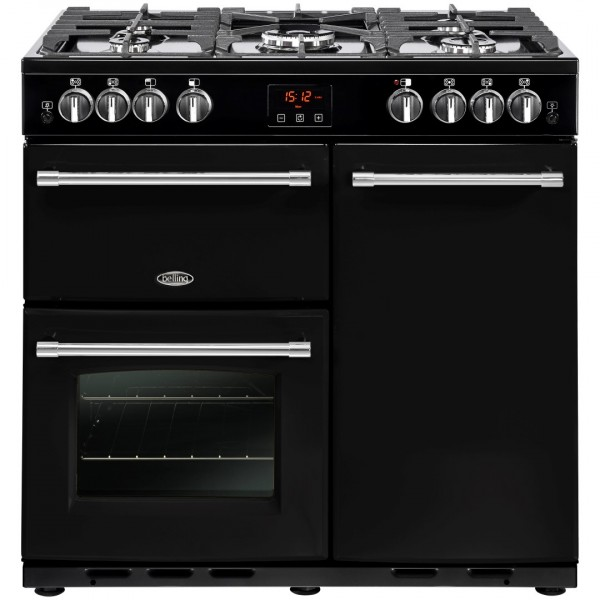 Belling Appliances Ltd Farmhouse 90G Blk Gas Range Cooker