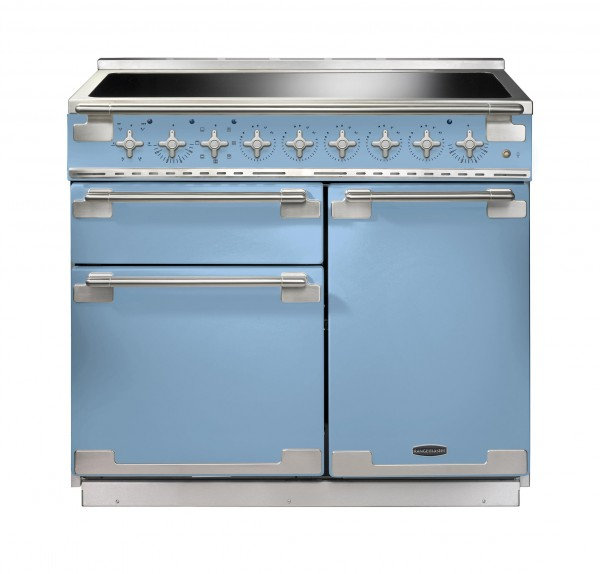 Rangemaster Elise 100IND China Blue 100190 Electric Range Cooker