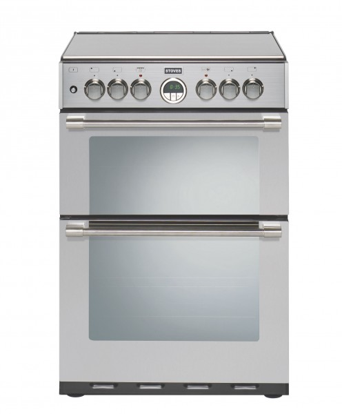 Stoves Sterling 600DF SS Dual Fuel Cooker