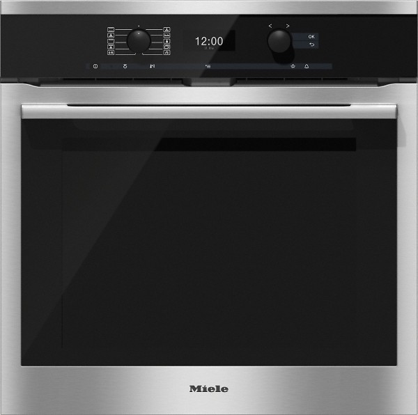 Miele H6360BP clst ContourLine Single Oven Electric
