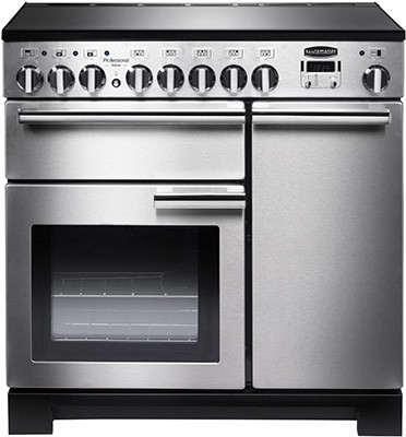 Rangemaster Professional Deluxe 90IND SS 97860 Electric Range Cooker