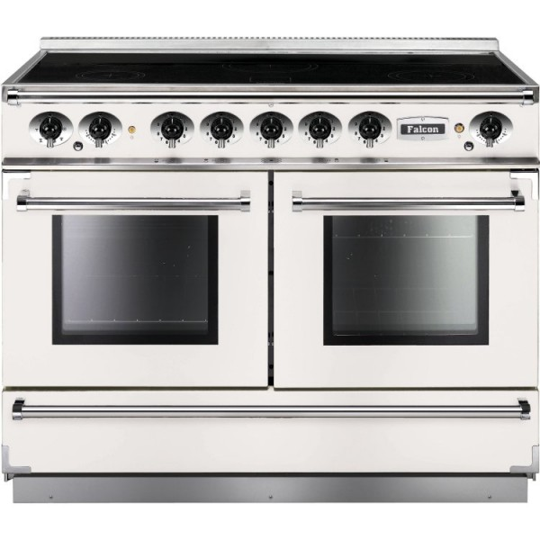 Falcon Continental 1092 IND White Nickel 83660 Electric Range Cooker