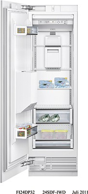 Siemens FI24DP32 Integrated In Column Freezer