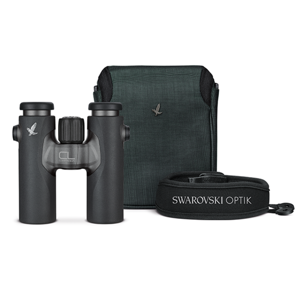 Swarovski CL Companion 10x30 Anthracite Binoculars with Wild Nature Accessory Pack