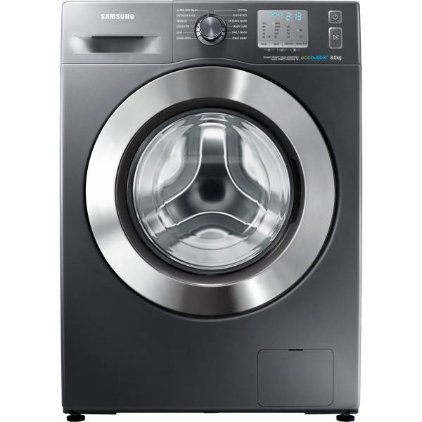Samsung 1400 Spin 8kg Washing Machine in graphite silver