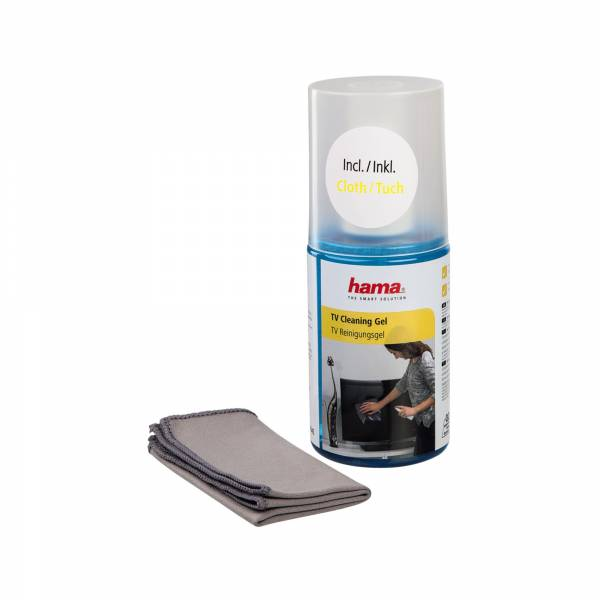 HAMA TV Cleaning Gel and Cloth