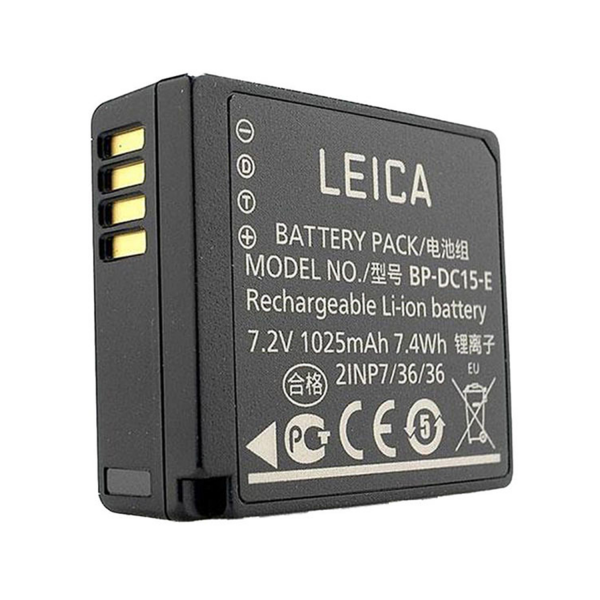 Leica Lithium-ion Battery BP-DC15E for D-LUX 7