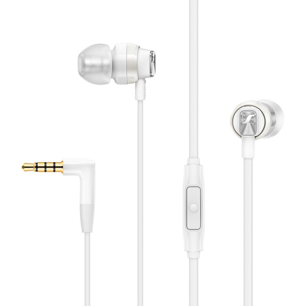 Sennheiser CX 300S In-Ear Headphones in White