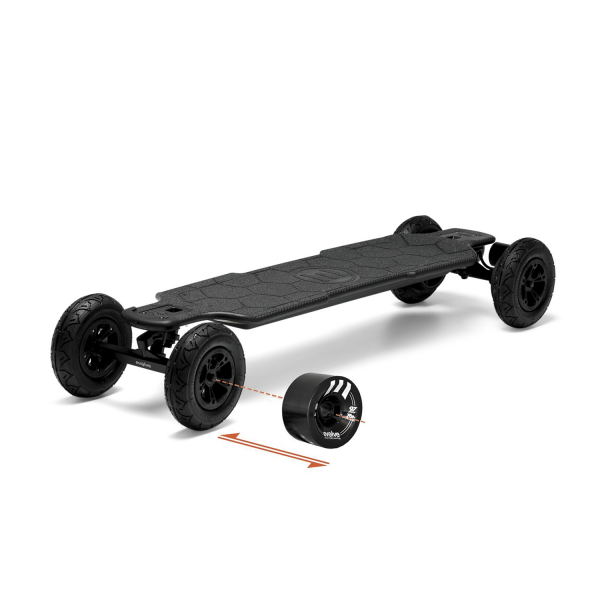 Evolve Carbon GTR 2 in 1 Electric Skateboard