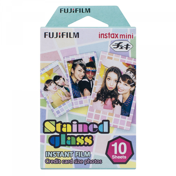 Fujifilm Instax Mini 10-Pack Film in Stained Glass