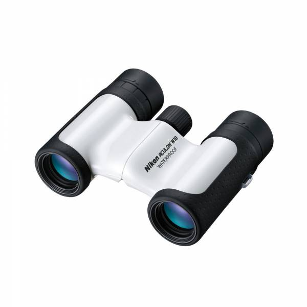 Nikon Aculon W10 10x21 Binoculars in White top view