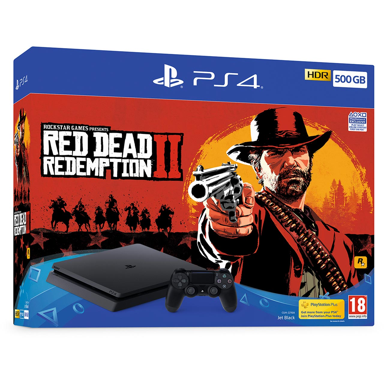 Sony PS4 Red Dead Redemption 2 Bundle, 500GB