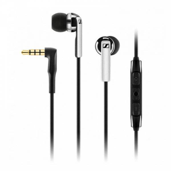 Sennheiser Cx2.00g In-Ear, 3-Button Rem For Galaxy in Black and Silver