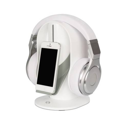 Heads-Up Base Stand For Headphones in White