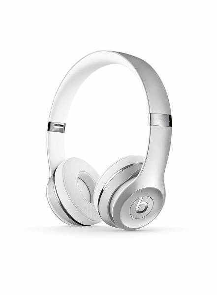 Beats by Dre Solo 3 Wireless On-Ear Headphones in Silver