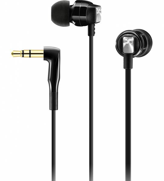 Sennheiser CX 3.0 in-ear headphones in Black