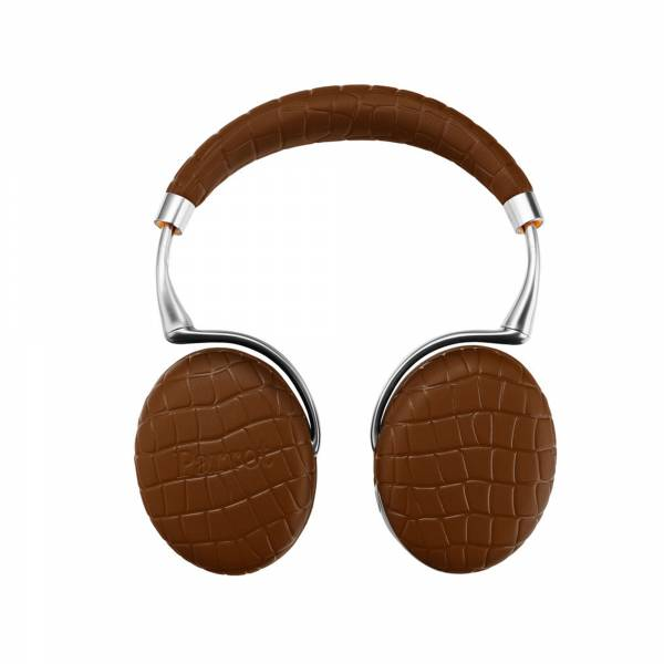 Parrot Zik 3 in Brown Croc (PF562103AA) front view