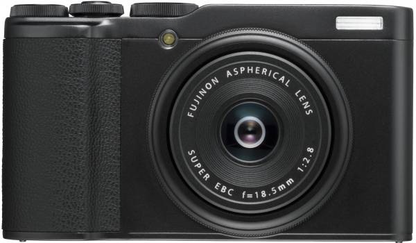 Fujifilm XF10 Digital Camera in Black Front View