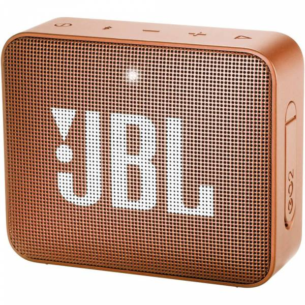 JBL Go 2 Speaker Orange Hero Image