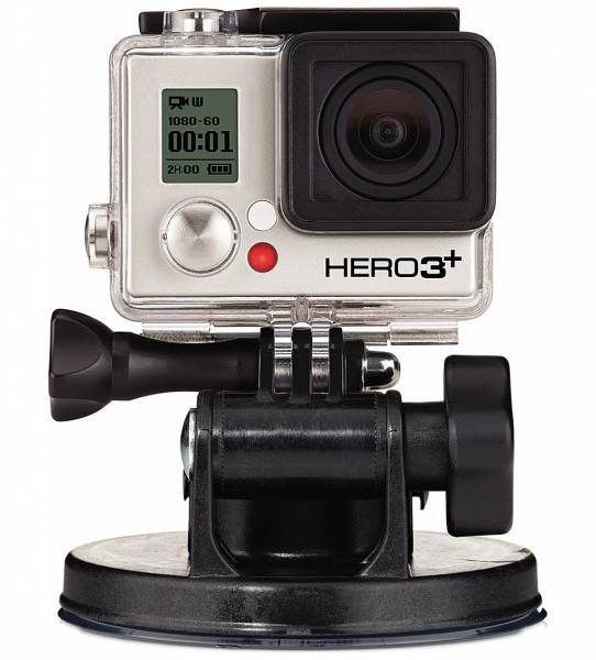 GoPro Camera Suction Cup with camera