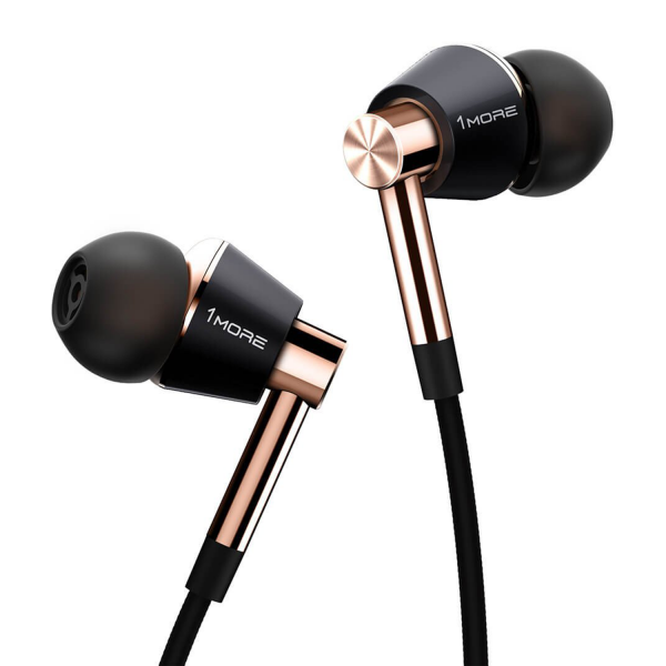 1MORE Triple Driver In-Ear Headphones in Black