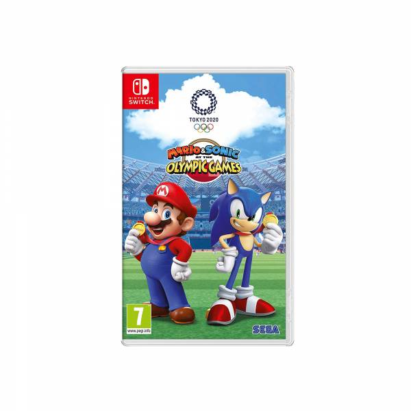 Mario and Sonic At The Olympic Games 2020 Nintendo Switch