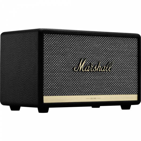 Marshall ACTON II Bluetooth Speaker in black hero image