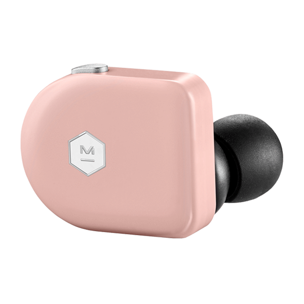 Master & Dynamic MW07 True Wireless Earphones in Pink Coral Acetate