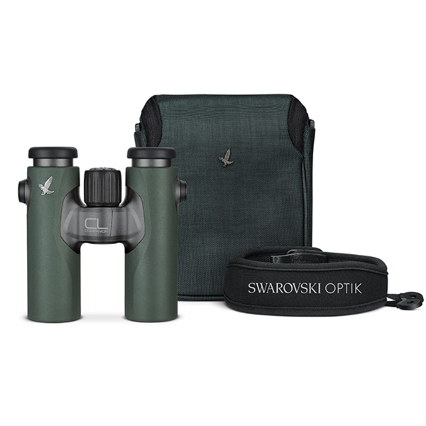 Swarovski CL Companion 8x30 Green Binoculars with Wild Nature Accessory Pack