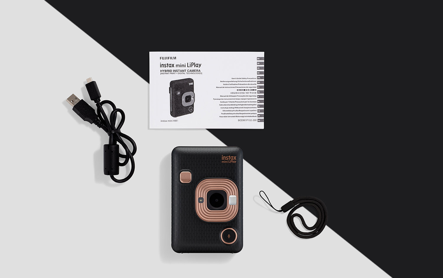 Fujifilm-instax-mini-liplay-black-image-5