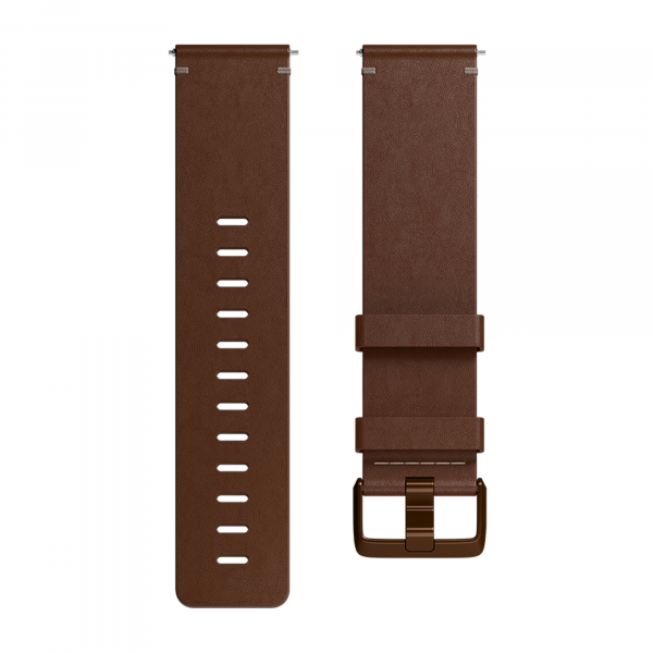 Fitbit Versa Leather Large Band in Cognac