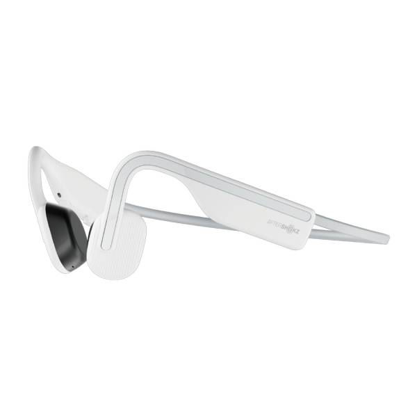 AfterShokz OpenMove Wireless Bone Conduction Headphones in Alpine White