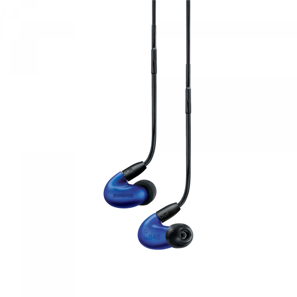 Shure SE846 Sound Isolation Earphones in Blue