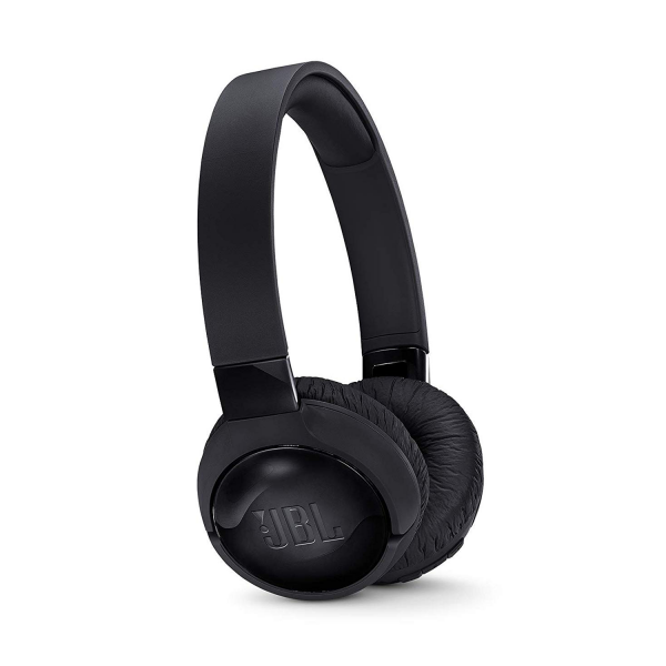 JBL TUNE600BTNC Active Noise-Cancelling Wireless On-Ear Headphones in Black