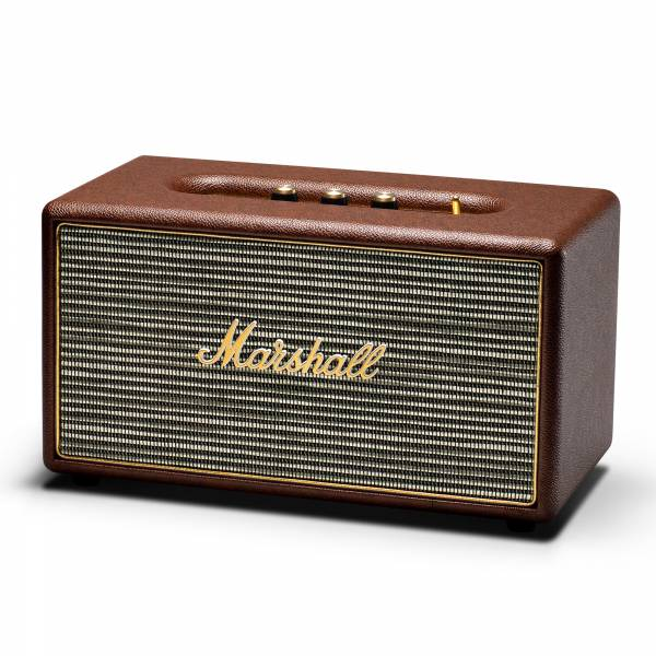 Marshall Stanmore Speaker in Brown left side view