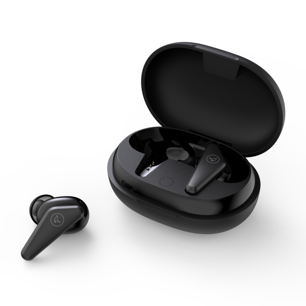 Libratone Track Air+ earphones with charging case in black