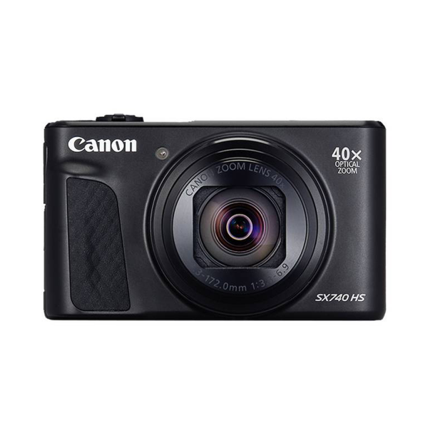 Canon PowerShot SX740 HS Compact Digital Camera in Black
